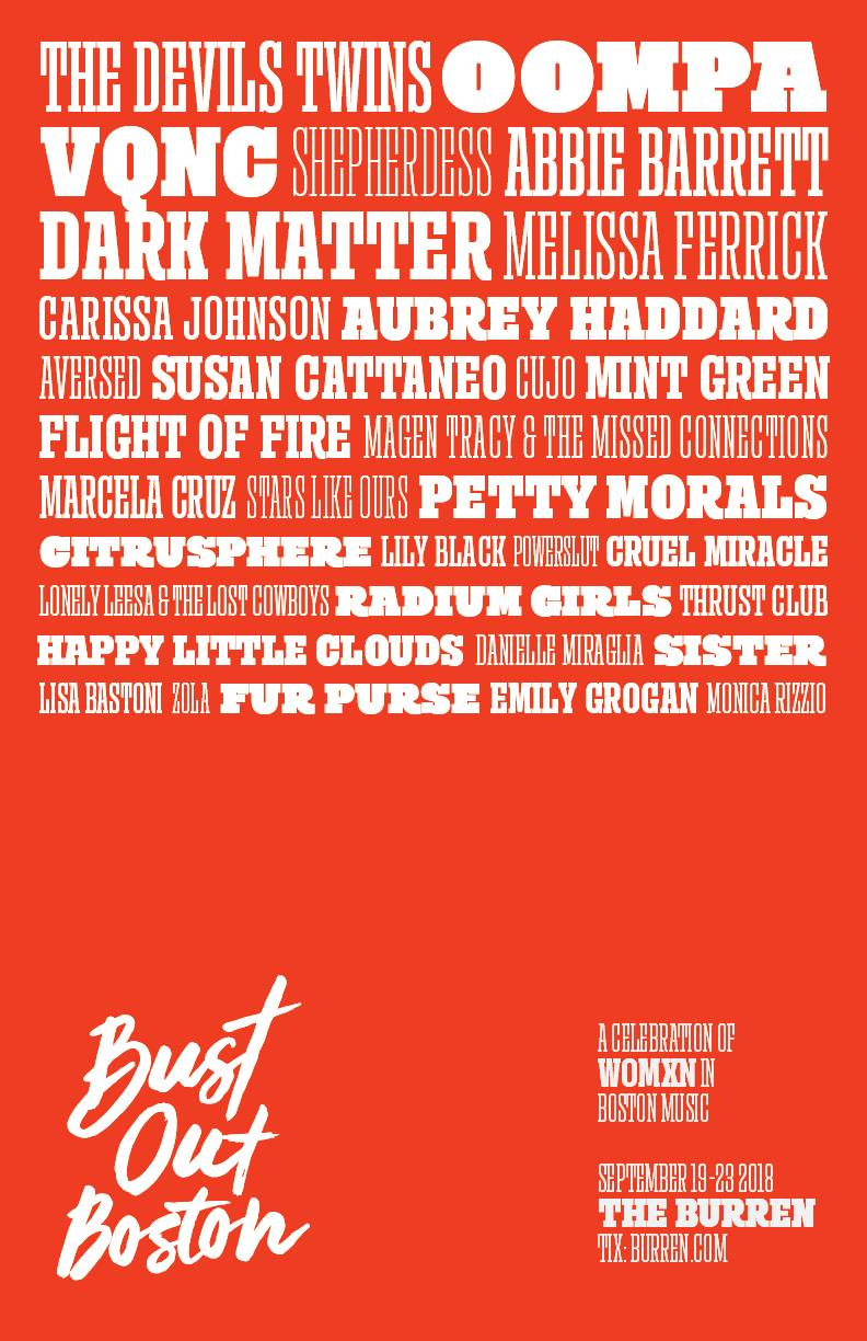 Bust Out Boston Music Festival
